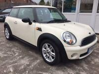 2008 08 MINI HATCH ONE 1.4 ONE 3D 94 BHP FULL HISTORY - SAT NAV AND BLUETOOTH