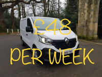£206.12 PER MONTH 2015 RENAULT TRAFIC 1.6 dCi L/R SL29 115 Business WITH NAV
