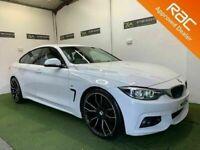 Late 2017 BMW 4 Series 420d Gran Coupe M Sport 190bhp **Finance & Warranty** (520d,a4,320d)