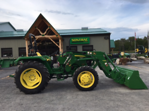 2014 JOHN DEERE 5045E -WITH  LOADER - LOW HOURS - MINT