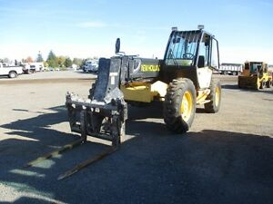 2000 New Holland LM850 Telescopic Forklift at Auct