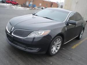 2014 Lincoln MKS 3.7 AWD,BLK/BLK,NAVI., BACK UP CAMERA