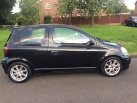 Toyota Yaris 1.0VVT-I Colour Collection Alloy Wheels & Spoiler New drivers car Low Insurance & Tax