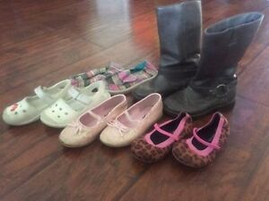 size 8-11 girls boots and shoes