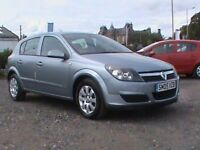 VAUXHALL ASTRA CLUB 1.6 AUTOMATIC 5 DR SILVER MOT 14/3/19,CLICK ON VIDEO LINK TO SEE AND HEAR MORE