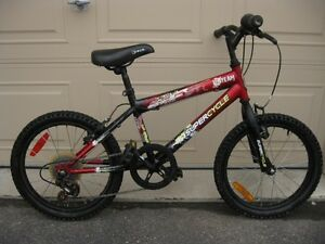 "Boys' 18"" and 20"" wheel, 5-speed bikes, $35 each"