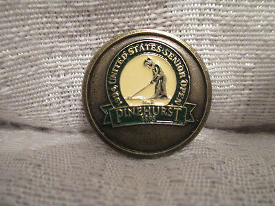1994 Senior Open Pinehurst No 2 Flat Ball Marker Mark Simon Hobday