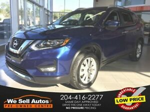 2017 Nissan Rogue SV * A/C, Bluetooth, Heated seats, RV Camera,