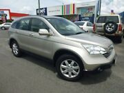 2008 Honda CR-V RE MY2007 Luxury 4WD Gold 5 Speed Automatic Wagon Bungalow Cairns City Preview