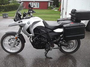 2010 BMW F650GS  with the 800cc Twin engine