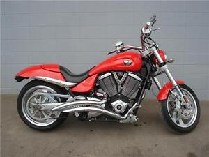 2005 Victory Hammer  Red