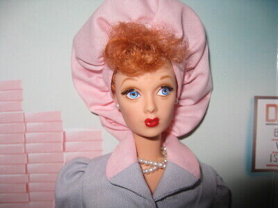 NWOB 1998 Barbie as I Love Lucy Ricardo - Job Switching - Lucille Ball