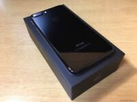Apple iPhone 7 (256GB). Boxed. Black. With Bluetooth Earphones. Vodafone.
