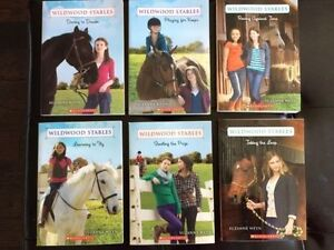 BRAND NEW!! Wildwood Stables Book Set (6 books), horse books