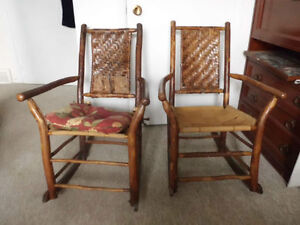 1940s Old Hickory Co Front Porch Rocking Chairs WOW