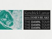 2 x Kendrick Lamar Tickets for 20th Feb 2018 @ Wembley SSE Arena £185 total