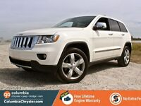 2011 Jeep Grand Cherokee Overland, Rear DVD, NAV, Free Lifetime  Richmond Greater Vancouver Area Preview