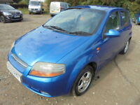 Daewoo Kalos SX (blue) 2003