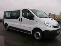 Vauxhall Vivaro 2900 2.0 CDTI 115PS H1 LWB COMBI 9 SEATER VAT INC DIESEL (2014)