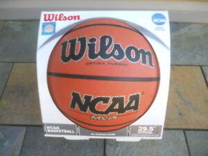 Wilson NCAA MVP Optima Rubber Basketball Ball
