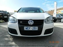 2007 Volkswagen Golf 1K GT White 6 Speed Direct Shift Hatchback Williamstown North Hobsons Bay Area Preview