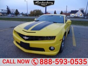 2010 Chevrolet Camaro SS COUPE Accident Free,  Leather,  Heated