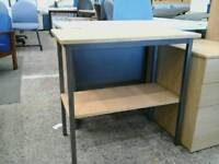 Small office table with under storage