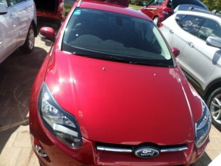 2012 Ford Focus LW Titanium Candy Red 6 Speed Automatic Hatchback Port Macquarie 2444 Port Macquarie City Preview