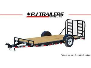 12' Single Axle Heavy Duty Carhauler Trailer (C1) London Ontario image 1
