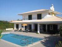Portugal Algarve: Holiday Villa Margarida for 12 people