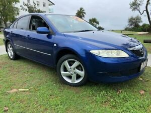 2005 Mazda 6 GG1031 MY04 Classic Blue 4 Speed Sports Automatic Hatchback Tugun Gold Coast South Preview