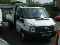 Ford Transit 2.2TDCi ( 100PS ) ( EU5 ) 350 EF DRW Dropside Pickup 13 foot body