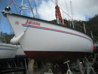 Dufour 2800 27ft 5 berth sailing yacht .