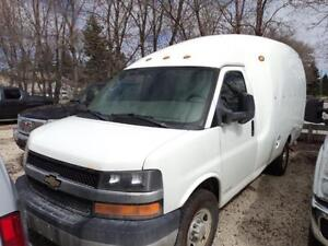 2011 Chevrolet Express 3500 Fibre Glass Cargo Van
