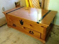 Solid Wood Chest Plus 2 Matching End Tables