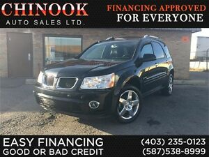 2008 Pontiac Torrent GXP AWD-Accident Free,Leather,Sunroof,Hitch