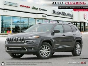 2017 Jeep Cherokee LIMITED/NAV/V6