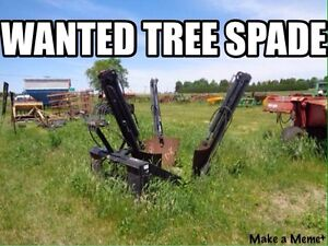 Wanted tree spade