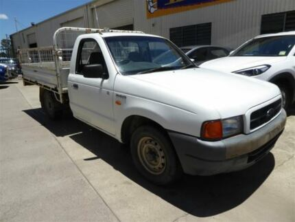 1999 Ford Courier PE GL White 5 Speed Manual Cab Chassis Brendale Pine Rivers Area Preview
