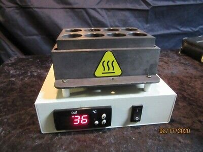 Digital Dry Block Heater- No.099a Hbc 12 - By Glas-col.