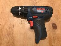 Bosch 12v combi drill driver - new
