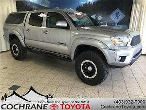 2015 Toyota Tacoma TRD SPORT PREMIUM SUPERCHARGED 6-SPEED MANUAL