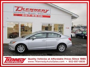 2012 HONDA CIVIC EX ONLY  $10,988.00 JUST $89.00 B/W 0 DOWN OAC