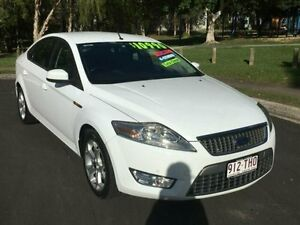 2010 Ford Mondeo White Sports Automatic Dual Clutch Hatchback Woodridge Logan Area Preview