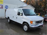 2007 Ford Econoline Cargo Van Commercial|DIESEL|1 TON|MUST SEE