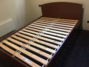 double bed frame IKEA Fitzroy North Yarra Area Preview