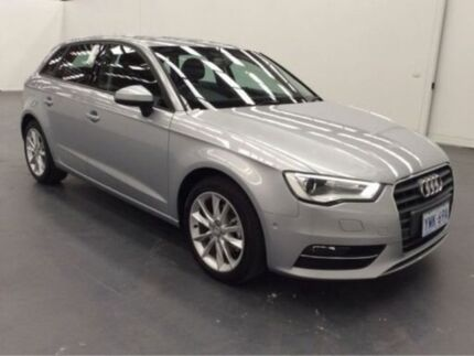 2015 Audi A3 8V MY16 8V MY16 ATTRACTION SPORTBACK S TRONIC Silver 7 Speed Auto Direct Shift