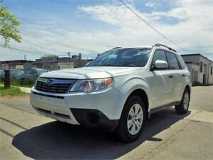REDUCED!!! 09 SUBARU FORESTER X PREMIUM AWD! LOW KM! CERTIFIED!