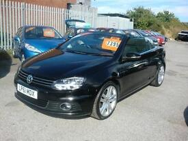 2012 Volkswagen Eos 2.0TDI CR ( 140ps ) BlueMotion Tech Sport convertible