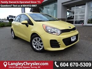 2016 Kia Rio LX+ *ACCIDENT FREE * DEALER INSPECTED * CERTIFIED *